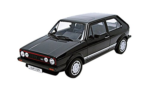 Welly-Modellauto-118-VW-Golf-1-GTI-Schwarz