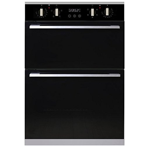SIA R3 Integrated Built In Multi Function Programmable Electric Double Fan Oven
