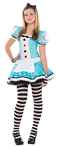 Juniors Clever Alice Costume Size Large (11-13)