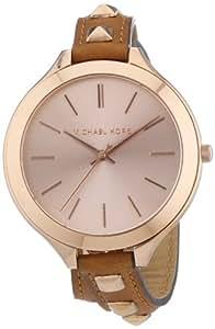 Michael Kors Damen-Armbanduhr Analog Quarz verschiedene Materialien MK2299