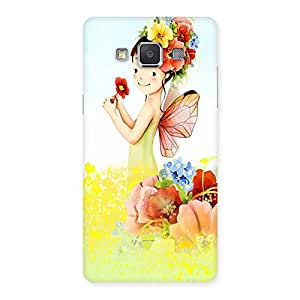 Ajay Enterprises Baby Angel Colorfull Back Case Cover for Galaxy Grand 3