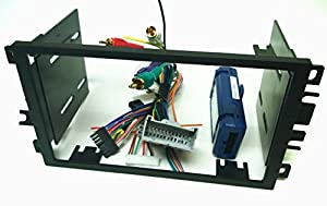 double din dash kit wire harness and antenna. Black Bedroom Furniture Sets. Home Design Ideas