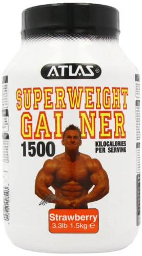 Nutrisport Atlas Super Weight Gainer Strawberry Powder 1.5Kg