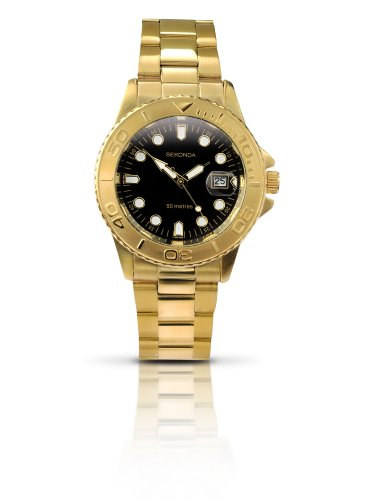 Sekonda Men's Gold Plated Sports Style Watch - 3131.27