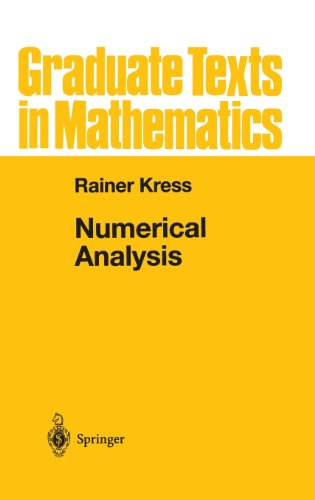 Numerical Analysis (Graduate Texts in Mathematics) (v. 181)
