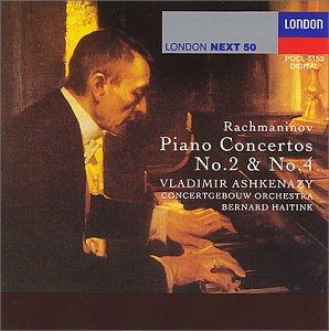 ラフマニノフ: ピアノ協奏曲第2番ハ短調&第4番ト単調