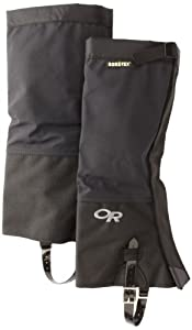 Outdoor Research M's Crocodiles Gaiters (Black, Small)