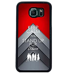 PRINTSWAG QUOTE Designer Back Cover Case for SAMSUNG GALAXY S6 EDGE