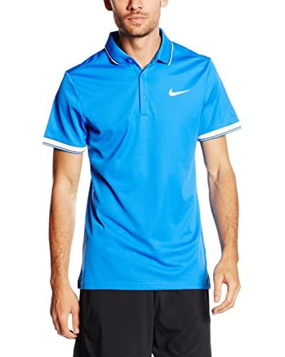 Nike Polo Court Azul