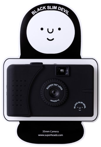 Black Slim Devil (Wide Angle Lens) Camera [Toy]