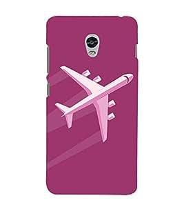 Aeroplane Clipart 3D Hard Polycarbonate Designer Back Case Cover for Lenovo Vibe P1