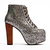 Jeffrey Campbell Lita Multi Glitter - Womens