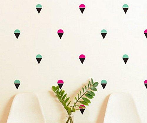 80-piezas-de-flamencos-Ice-Cream-pegatinas-de-pared-decoracin-de-la-habitacin-nios-mural-de-arte-regalo-bricolaje-en-casa
