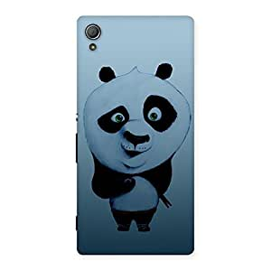 Gorgeous Panda Puzzled Multicolor Back Case Cover for Xperia Z3 Plus