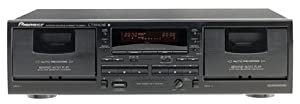 Pioneer CT-W404R Dual Cassette Deck