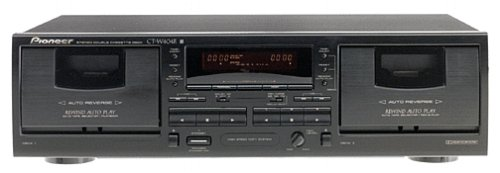 Great Deal! Pioneer CT-W404R Dual Cassette Deck (Discontinued by Manufacturer)