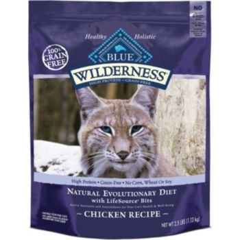 Blue Buffalo Wilderness Chicken with Sweet Potatoes Adult Dry Cat Food, 6-Pound Bag