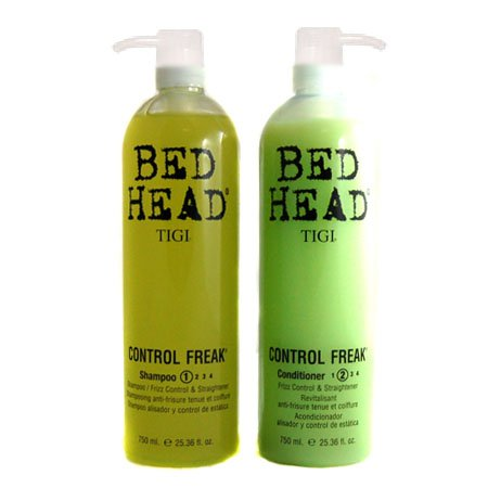 Tigi Bed Head Control Freak Anti-Frizz Shampoo & Conditioner Tween Duo Deal - 2x750ml