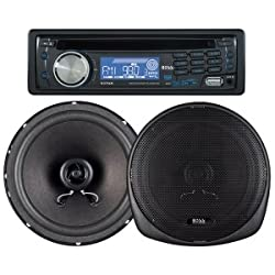 See Boss Audio 647CK MP3 COMPATIBLE CD AM FM RECVER 647UA PLUS ONE PAIR OF 6.5IN SPKRS Details