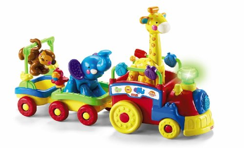 Fisher-Price Amazing Animals Sing and Go Choo-Choo (Fisher Price Push Elephant compare prices)