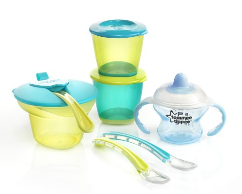 Tommee Tippee Explora Weaning Kit (Blue) front-820186