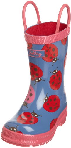 Rev Hatley Girls 2-6X Children's Nordic Bugs Rubber