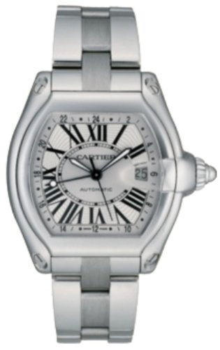 Cartier Men's W62032X6 Roadster GMT Automatic Watch