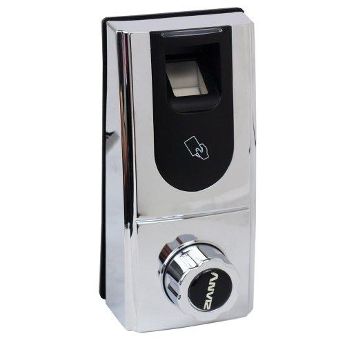 Fingerprint Biometric Door Lock With Rfid Card Reader