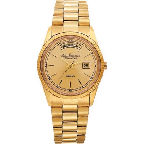 Mens Jules Jurgensen Dress Watch - Goldtone