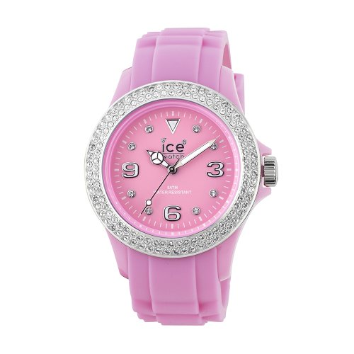 Ice-Watch ST.PS.S.S Ladies Small Sili Stone Pink Silicon Watch