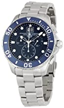 Tag Heuer Men s CAN1011BA0821 Aquaracer Blue Dial Watch