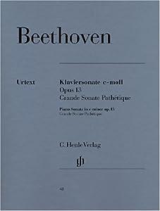 Piano Sonata C Minor Grande Sonata Pathtique Op 13 - Piano - Hn 48 by G. Henle Verlag