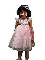 TheTickleToe Kids Girls Trendy Party Wear Net Tutu Frock Dress 5-6 years