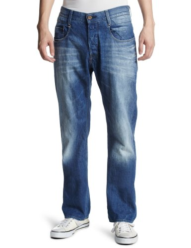 G-Star - Jeans New Radar, Uomo, Blu (Blau (medium aged  71)), 46/48 IT (33W/32L)