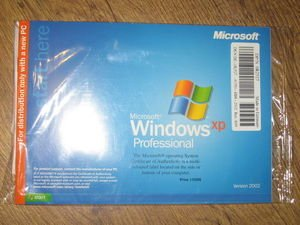 Microsoft Windows XP Professional Operating System - Dell Reinstallation CD - Service Pack 1a