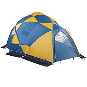 Buy Sierra Designs Mothership 8 Expedition Basecamp Mountaineering Tent (8-Person) by Sierra Designs
