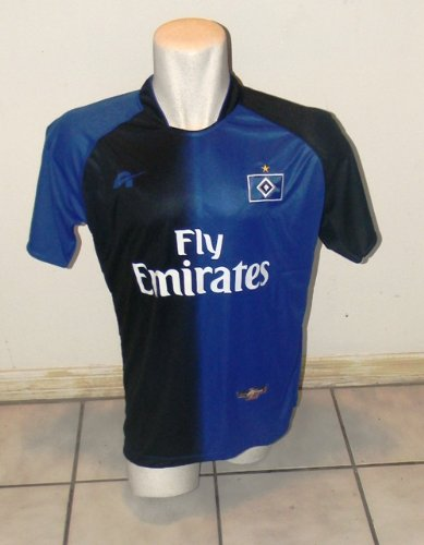 germany hamburg away soccer jersey size large