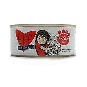 BFF Canned Cat Tuna Too Cool 5.5 oz Case 8