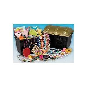 """Sturdy Plastic Treasure Chest Box 19""""W x 14"""" high x 13"""" Deep (1/PKG) by TC"""