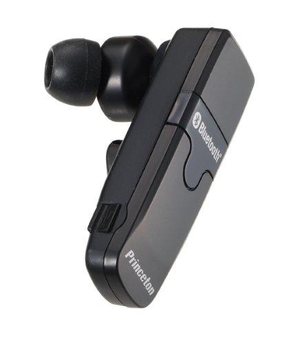 プリンストンテクノロジー 骨伝導機能付カナル型Bluetoothハンズフリーヘッドセット ブラック PTM-BEM8BK