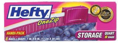 Hefty One Zip Storage Bags