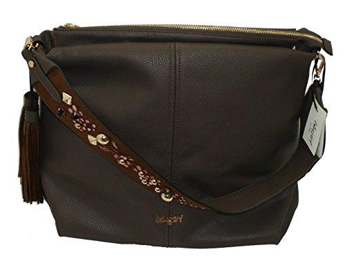 Borsa sacca un manico BLUGIRL BG 830001 women handbag marrone