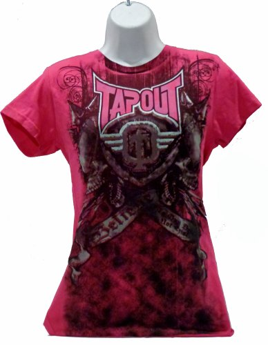 Tapout Hot Pink Womens Believe T-Shirt Tee