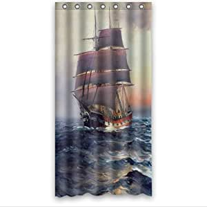 Amazon Custom It painting landscape sea sky ship