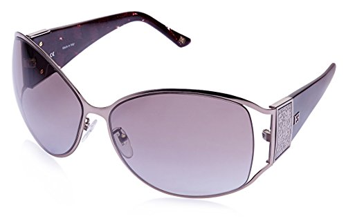 Escada Escada Oversized Sunglasses (Gunmetal) (SES 778|0A40|65) (Multicolor)