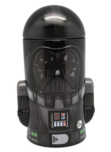 Round Mini Size Darth Vader Tin Coin Piggy Bank