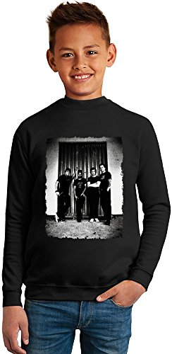 Billy Talent Superb Quality Boys Sweater by TRUE FANS APPAREL - 50% Cotton & 50% Polyester- Set-In Sleeves- Open End Yarn- Unisex for Boys and Girls 13-14 years