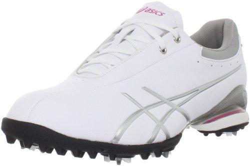 ASICS Women's GEL-Ace Thea Golf Shoe,White/Silver,8.5 M US