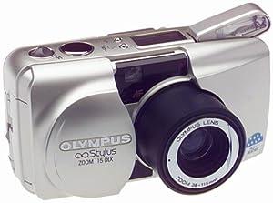 Olympus Stylus Zoom 115 QD DLX Date 35mm Camera