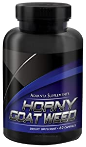 Horny Goat Weed With Maca Root Extract (60 Capsules)